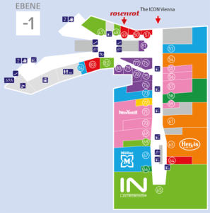 Lageplan BahnhofCity